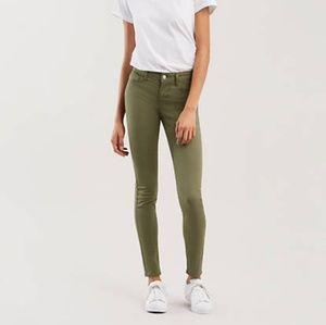 NWOT Levi's 701 Super Skinny Jeans- Sateen